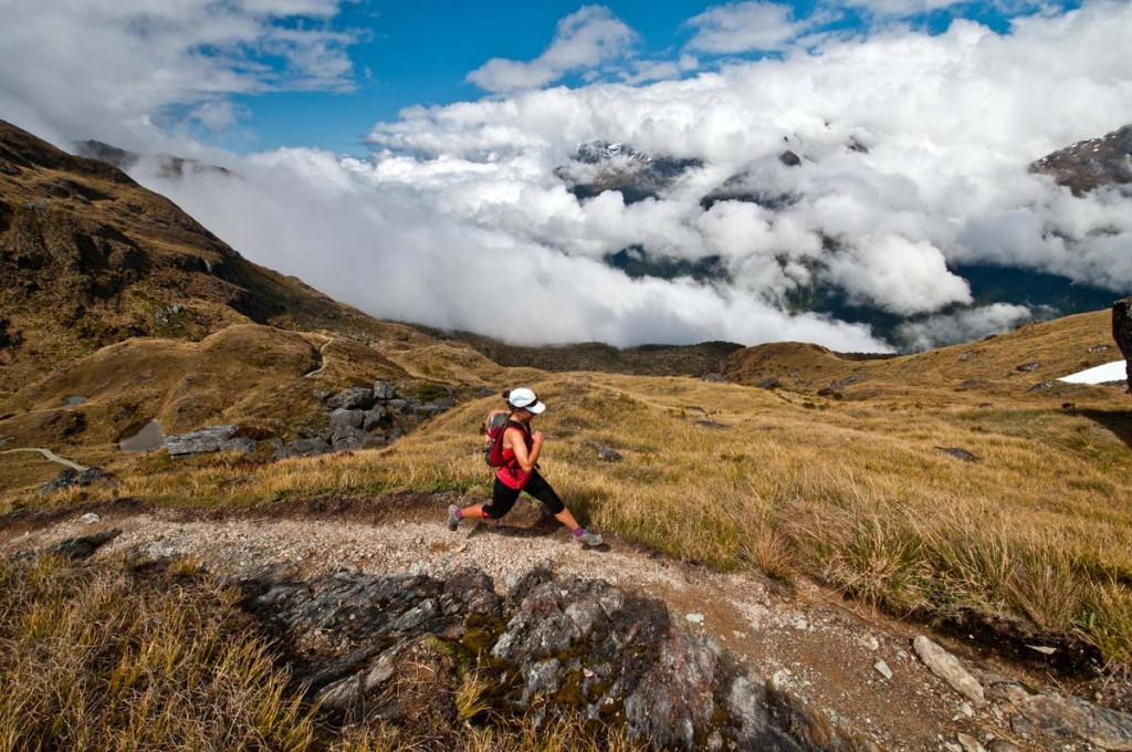Running New Zealands famous Routeburn Track